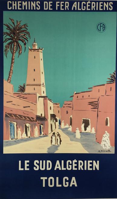 Chemin de Fer Algeriens La Sud Algerien Tolga