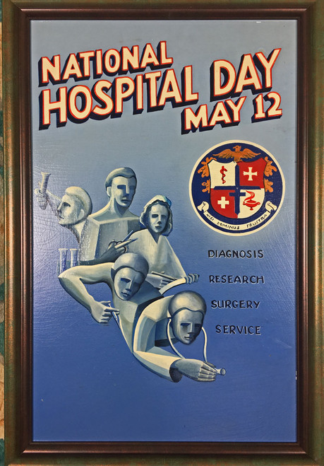 National Hospital Day May 12 Diagnosis, Research, Surgery Service