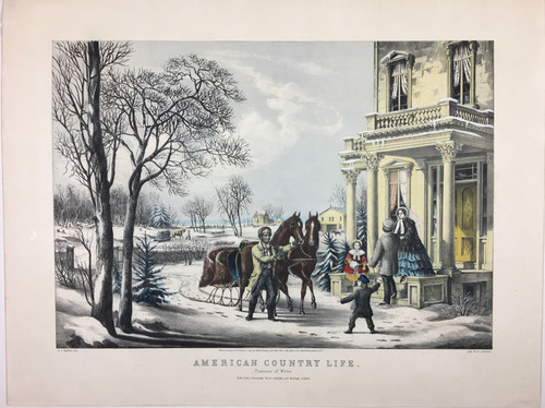 """American Country Life """"Pleasures of Winter"""""""