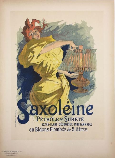 Maitre de L'Affiche Plate 13 - Saxoleine