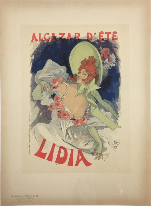 Maitres de L'Affiche Plate 25 - Alcazar d'Ete Lidia