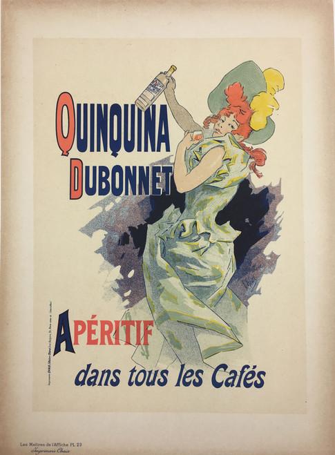 Maitres de L'Affiche Plate 29 - Quinquina Dubonnet