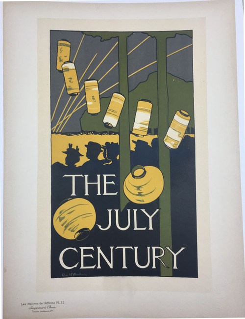 Maitres de L'Affiche Plate 32 - The July Century Magazine