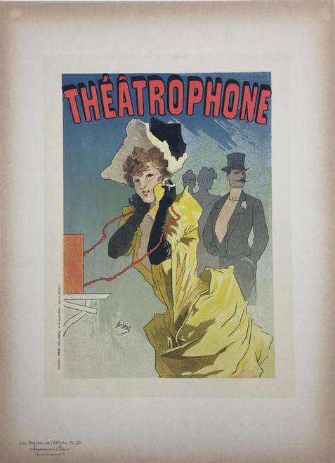 Maitres de L'Affiche Plate 33 - Theatrophone