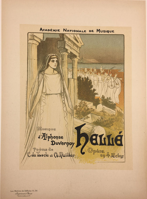 Maitres de L'Affiche Plate 34 - Academie Nationale de Musique