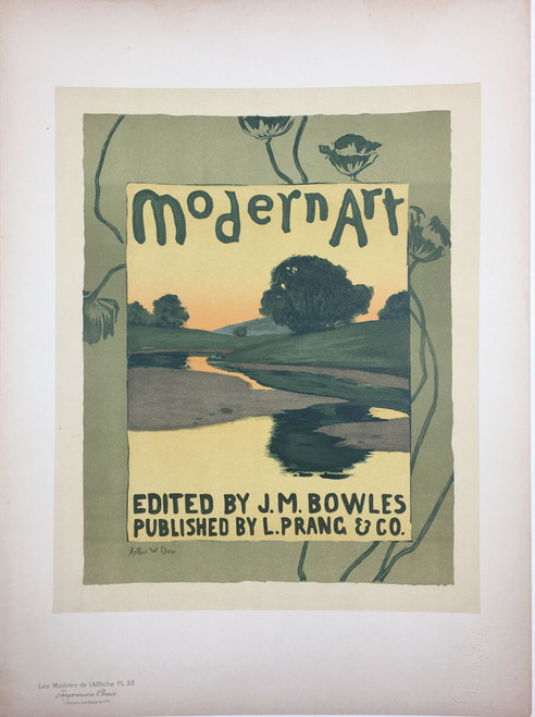 Maitres de L'Affiche Plate 36 - Modern Art ad