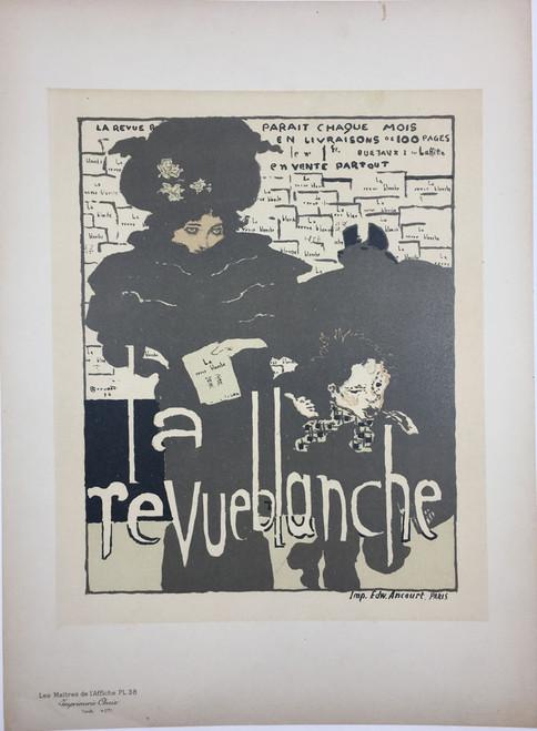 Maitres de L'Affiche Plate 38 - La Revue Blanche