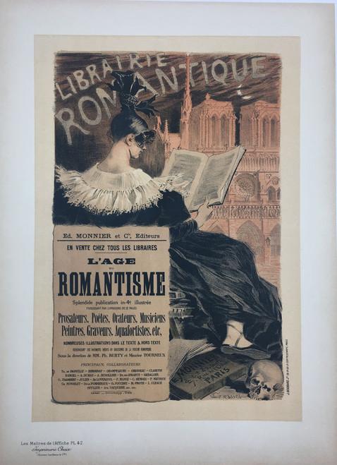 Maitres de L'Affiche Plate 42 - Librairie Romantique