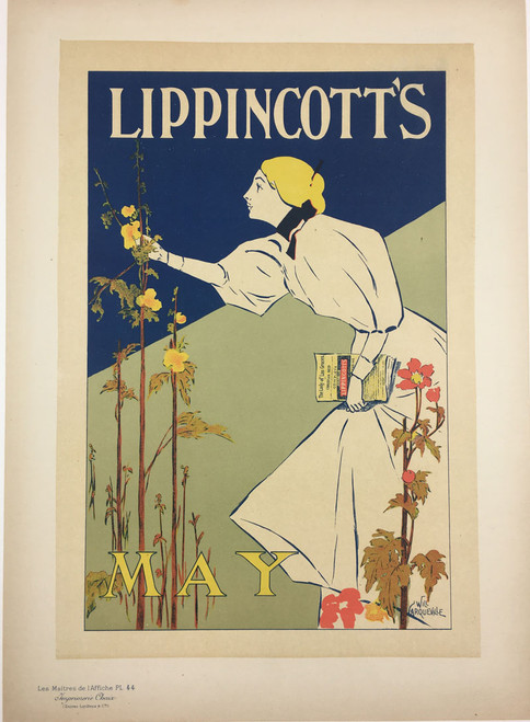 Maitres de L'Affiche Plate 44 - Lippincott's May Issue