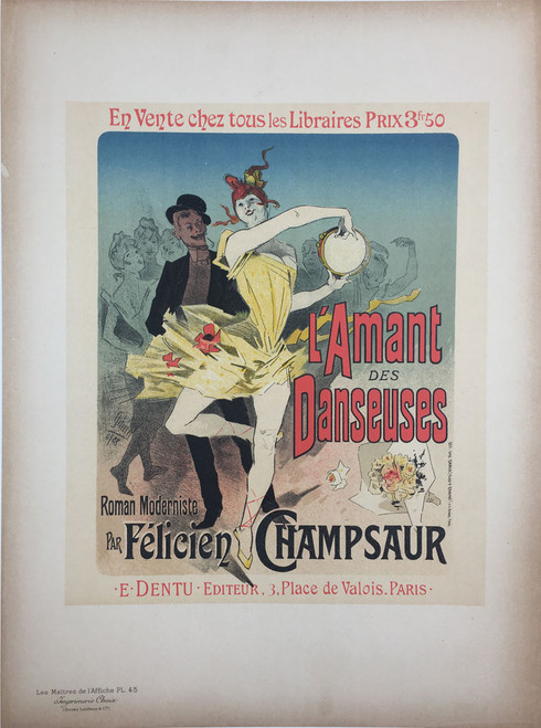 Maitres de L'Affiche Plate 45 - The Lover of Ballerinas