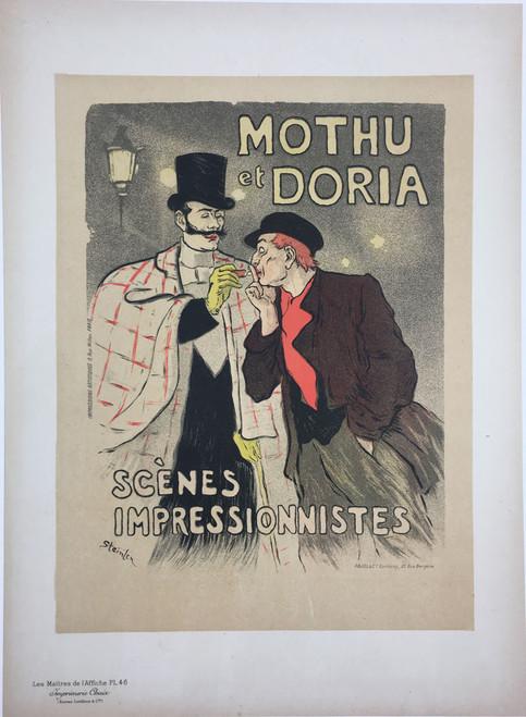 Maitres de L'Affiche Plate 46 - Mothu et Doria