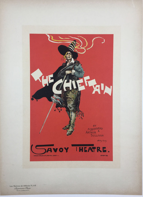 Maitres de L'Affiche Plate 48 - The Chieftain