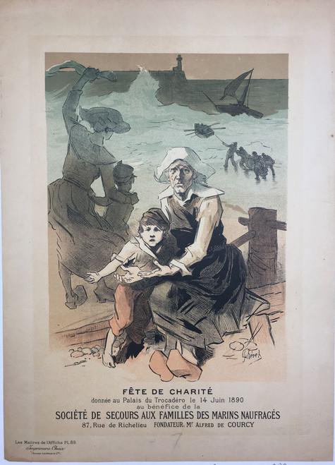 Maitres de L'Affiche Plate 89 - Fete de Charite