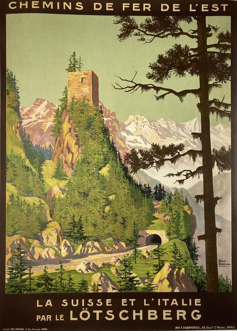 Chemins de Fer de L'est....Lotschberg