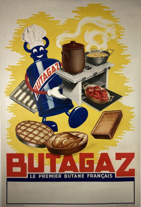Butagaz Le Premier Butane Francaise