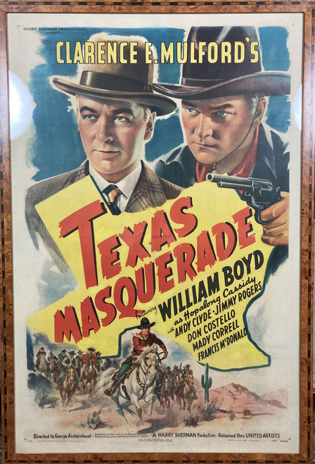 Clarence Mulford's Texas Masquerade