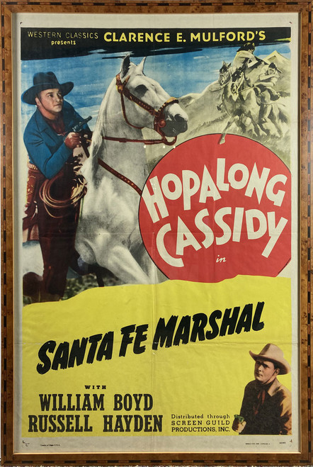 Hopalong Cassidy in Santa Fe Marshal