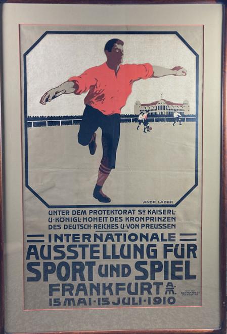 Internationale Ausstellung Fur Sport und Spiel Frankfurt