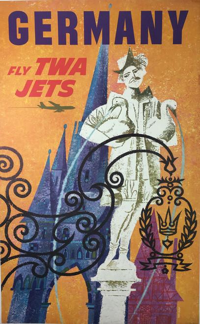 Germany  Fly TWA Jets