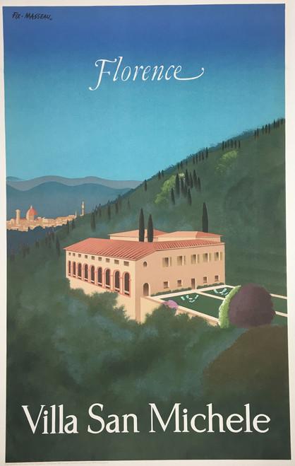Florence original lithograph by Fix-Masseau