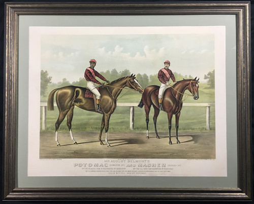 Mr. August Belmont's Potomac (Hamilton Up) and Masher (Bergen Up)