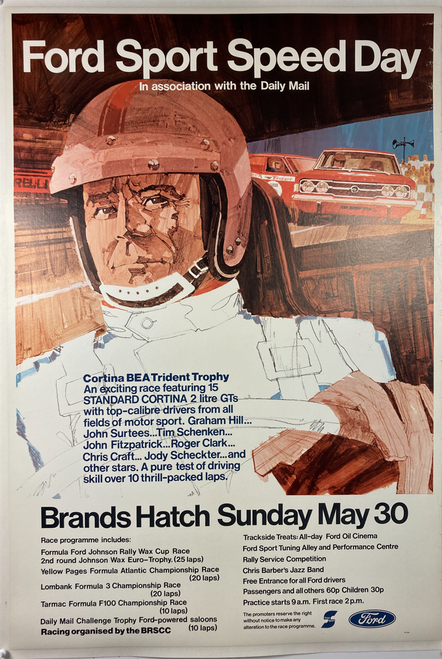 Ford Sport Speed Day Brands Hatch May 30,1971