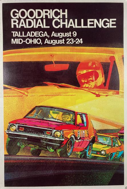 Goodrich Radial Challenge 1975 Talladega Mid-Ohio