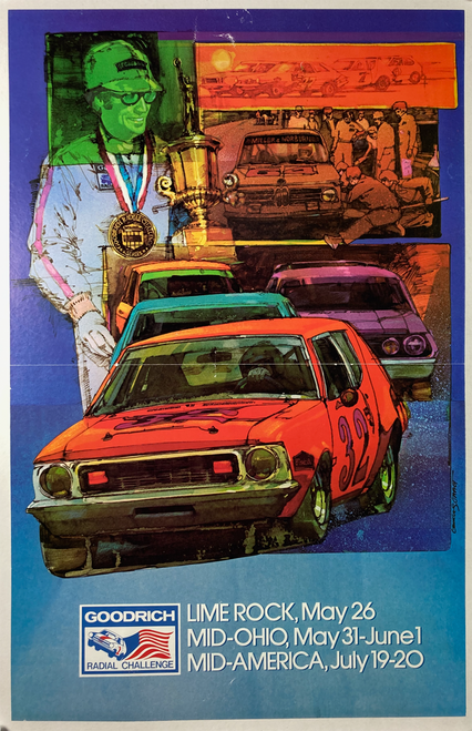 Goodrich Radial Challenge Races Lime Rock 1974-75