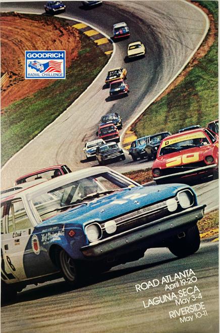 Goodrich Radial Challenge Races Road Atlanta Laguna Seca Riverside 1975