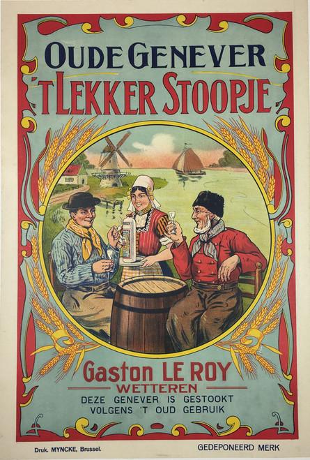 Oude Genever 'Tlekker Stoopje
