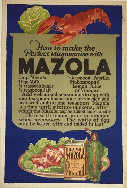 Mazola Lobster Salad Recipe