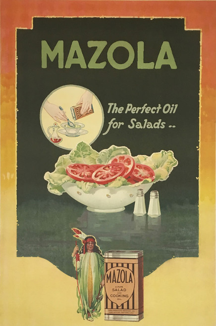 Mazola The Pefect Oil for Salads