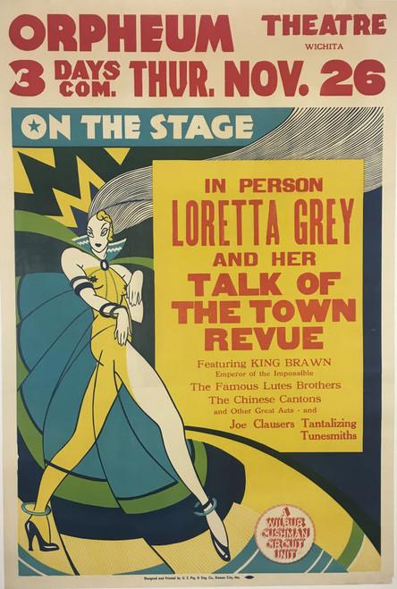 Loretta Gay & Her Talk of the Town Revue