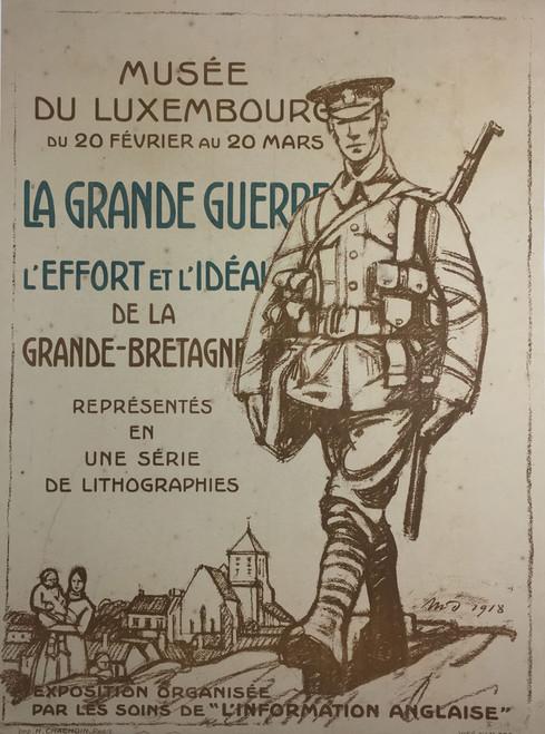 Musée du Luxembourg World War I Exhibit