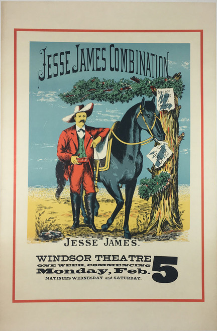 Jesse James Play Theater Ad