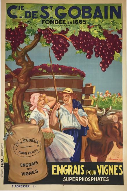 Cie de St. Gobain Engras pour Vignes
