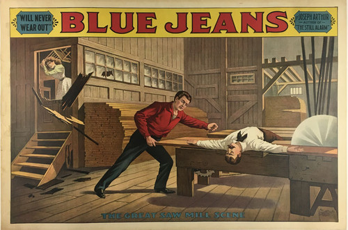 Blue Jeans and The Great Saw Mill Scene