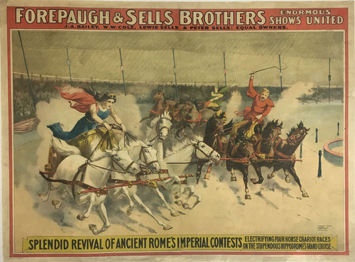 Forepaugh & Sells Brothers Enormous Shows United