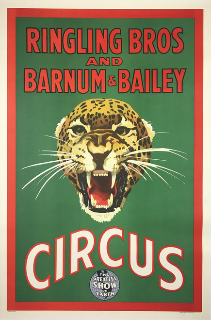 Ringling Bros and Barnum & Bailey Circus Jaguar