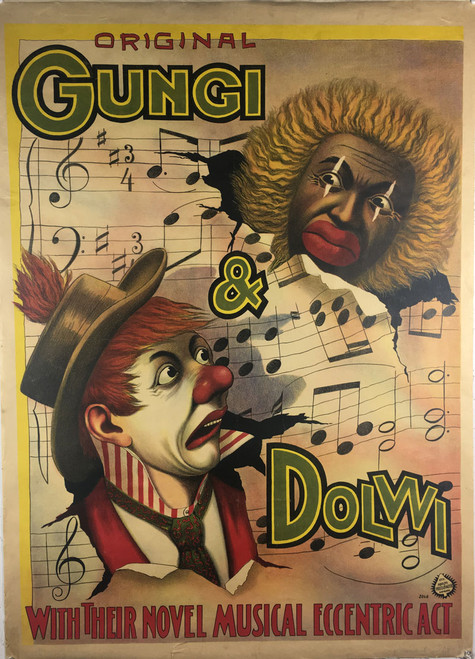 Original Gungi & Dolwi Their Novel Musical Eccentric Art