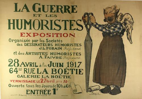 The Guerre et les Humoristes Expostion