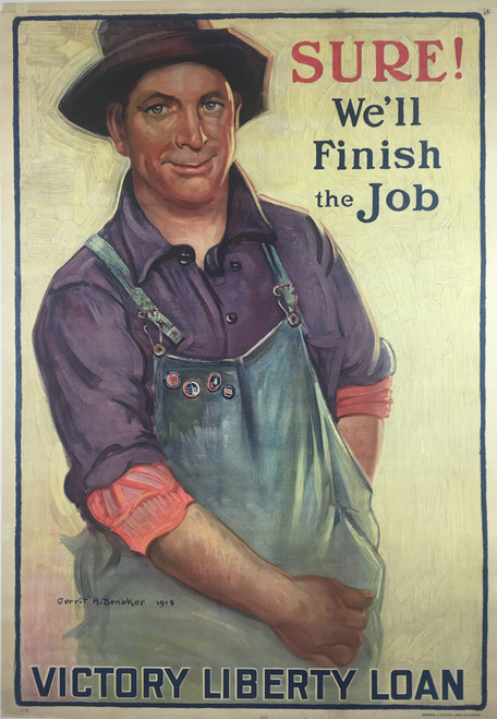 Sure We'll Finish the Job, Liberty Loans