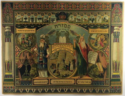 Judaica 10 Commandments