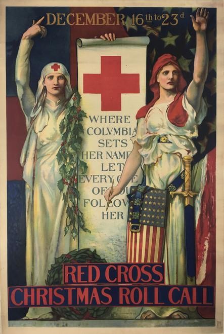 Red Cross Christmas Roll Call 1918