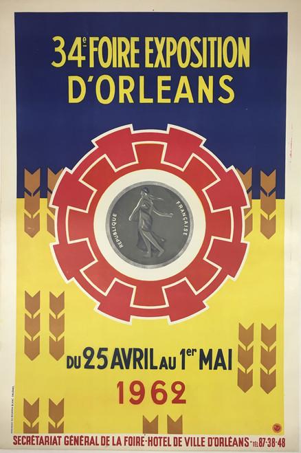 1962 Foile Expostion d'Orleans
