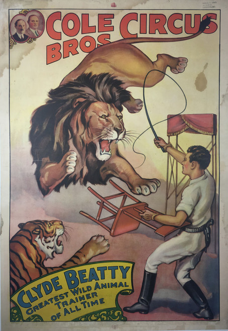 Cole Bros./Clyde Beatty Circus Lions