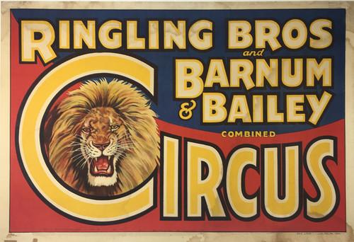 Ringling Bros Barnum & Bailey Lions