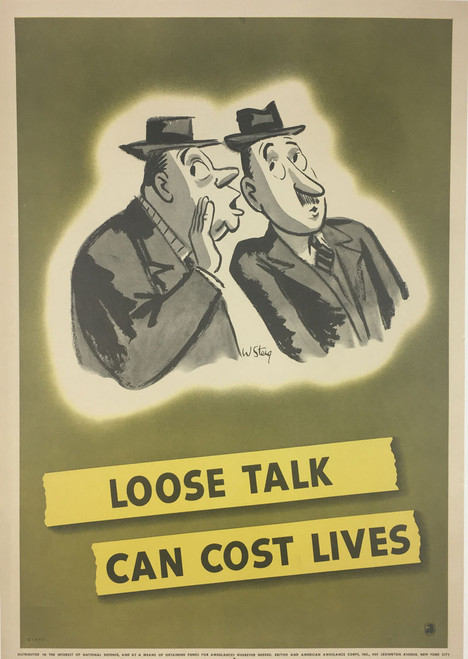 Loose Talk Can Cost Lives