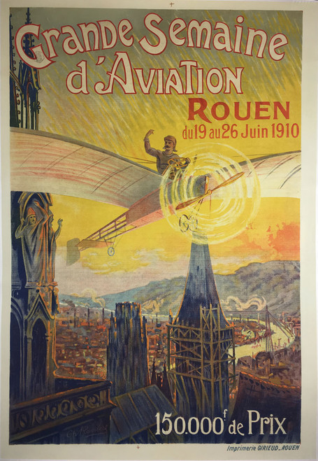 Grande Semaine D'Aviation Rouen 1910