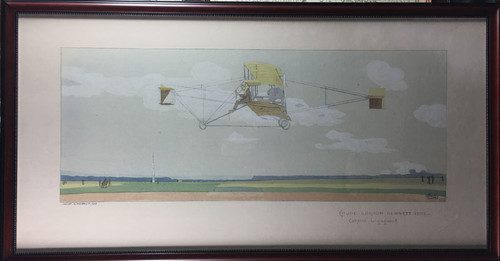 Early Aviation Decorative Piece